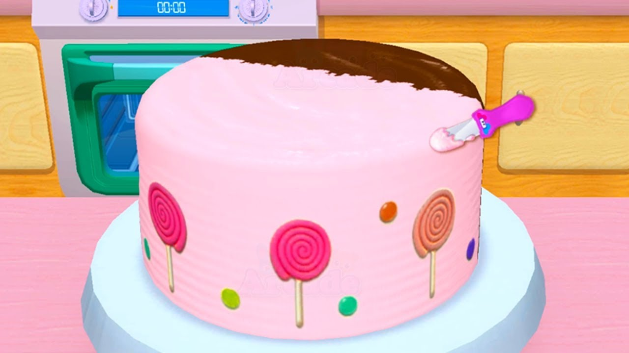 My Bakery Empire - Bake, Decorate & Serve Cakes Games For Kids - Play Fun Baby Learn Colors Game