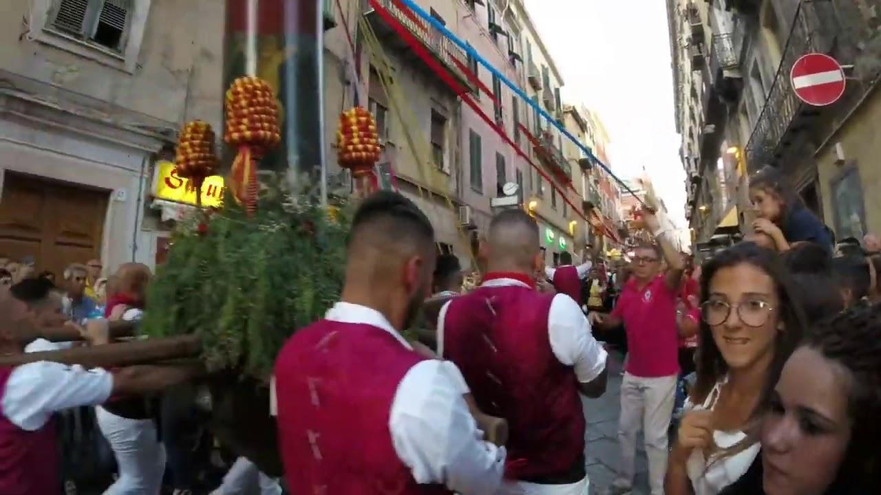 Candelieri Sassari 2019 - YouTube