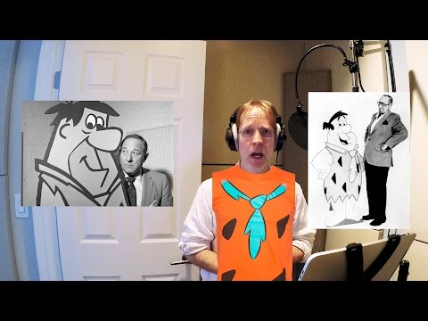 Day in the Life of a VoiceActor: The Fred Flintstone Session