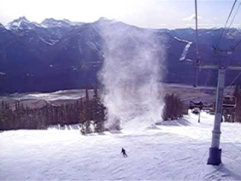 Revelstoke Snow Tornado - YouTube