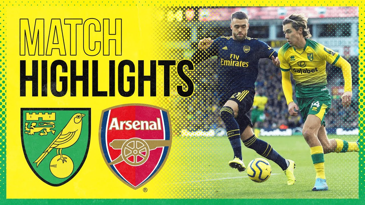 Highlights Norwich City 2 2 Arsenal Youtube