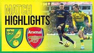 Highlights | Norwich City 2 2 Arsenal