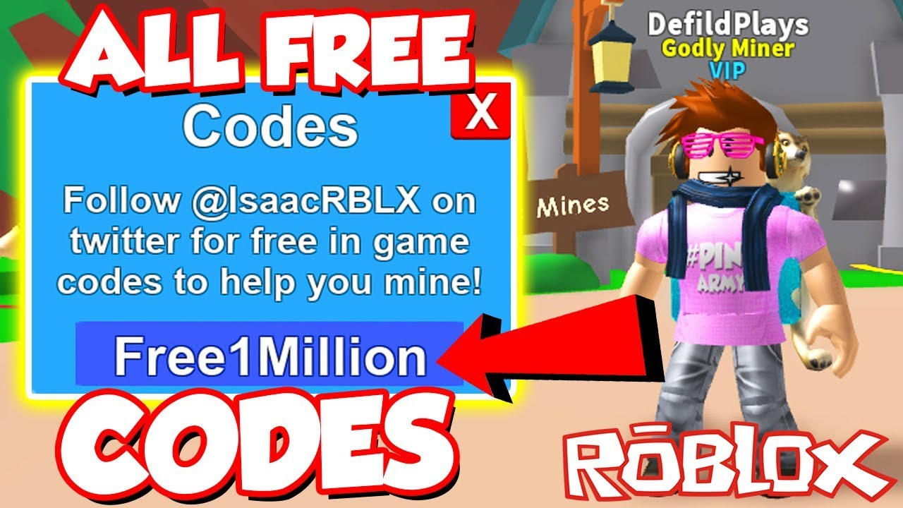 (Codes) ALL UP TO DATE TWITTER MONEY CODES In Roblox Mining Simulator! *SO  MANY FREE ITEMS!?*