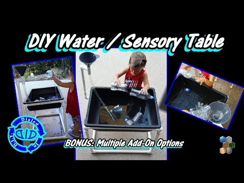 Make A Water Table - Fun 4 Kids - Hot Day Play