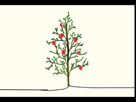 씨가 자라서 나무되엇다.