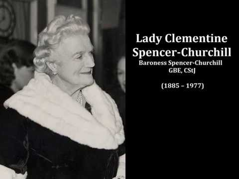 The voice of Lady Clementine Churchill, the wife of Winston Churchill  - 9 May 1945