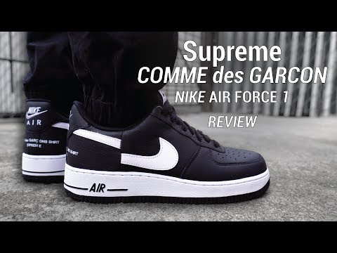 Nike Air Cdg Supreme 1 Low On Youtube Feet Reviewamp; Force YbeHW2IE9D