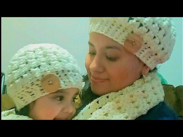 👧👩Gorro en crochet(ganchillo) para niña o mujer paso a paso , YouTube