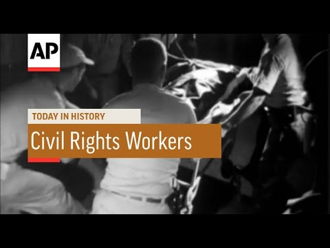 Bodies of Slain Civil Rights Workers Found - 1964 | Today in History | 21 June 16