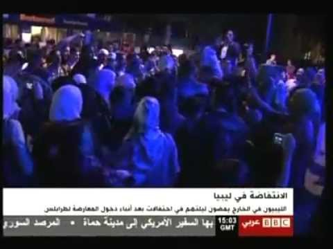 Mosaic News - 08/22/11: Libyan revolutionaries storm Tripoli, claim victory