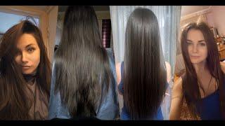 Кератиновое выпрямление волос(На сегодняшний день кератиновое выпрямление волос возможно сделать не только в салоне, но и в домашних..., 2016-04-27T14:15:53.000Z)