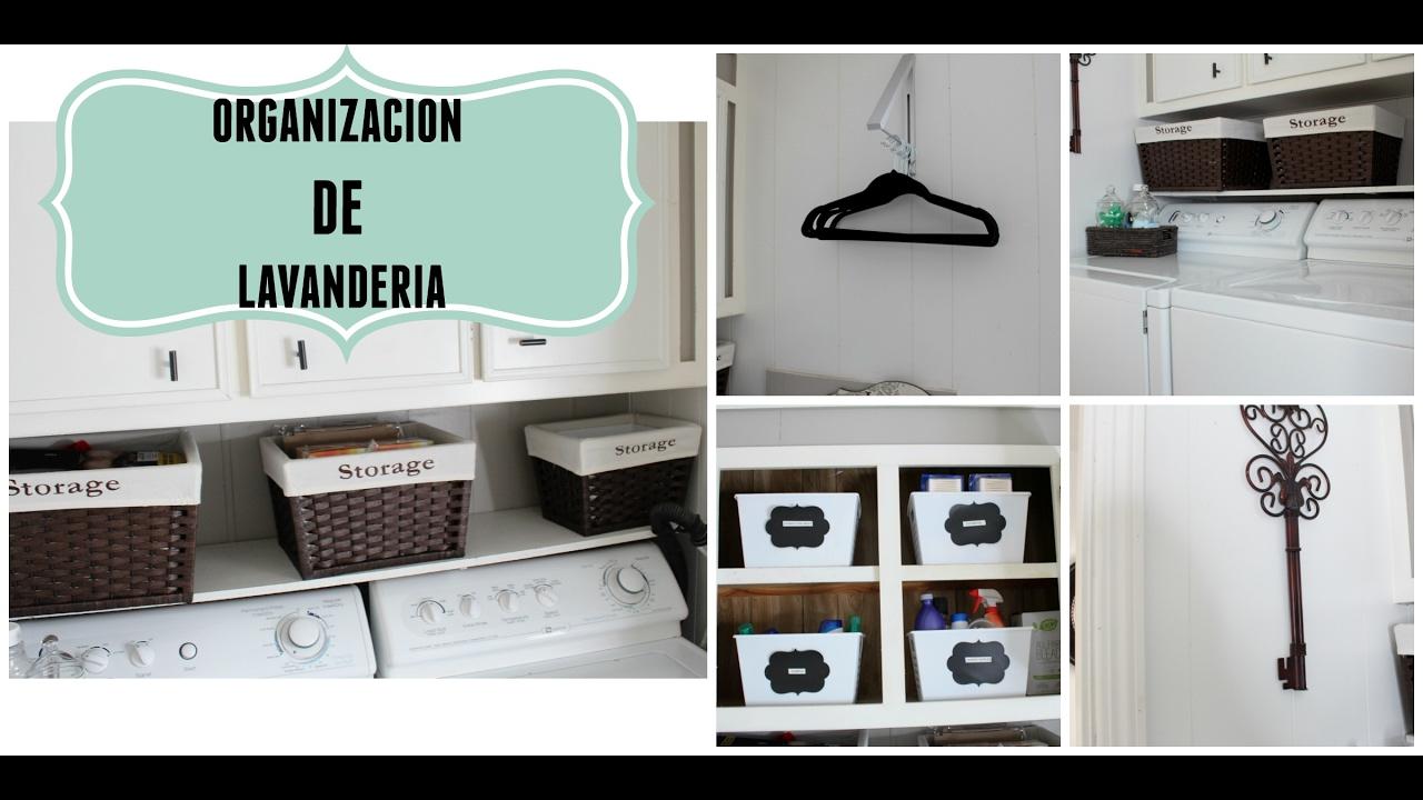 Como decorar una lavander a peque a youtube for Ideas para lavaderos de casas