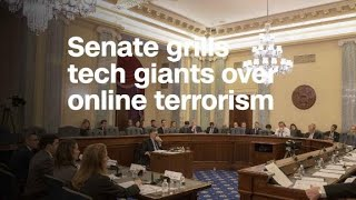 Senate committee grills tech giants over online terrorism