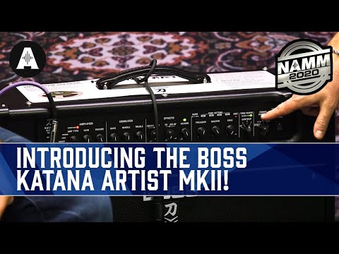 NEW Boss Katana Artist MKII - Double Your Tone with Next-Gen Features! - NAMM 2020