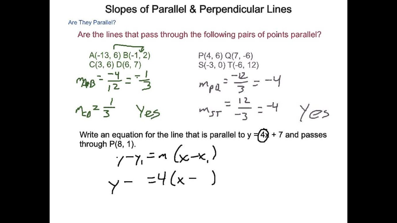 Uncategorized Slope Of Parallel And Perpendicular Lines Worksheet worksheet  perpendicular lines equation duliziyou worksheets for geometry