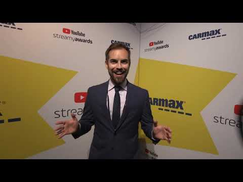 Jack Douglass Backstage Interview | Streamy Awards 2019