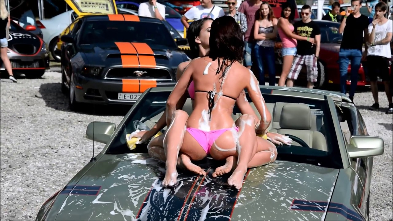 car in porn sex wash