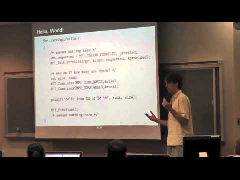 Parallel Computing: Distributed Memory and Communication