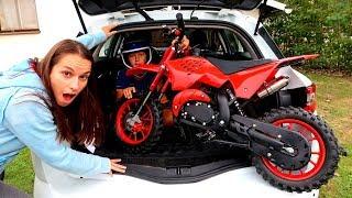 Funny Baby Ride on New Dirt Cross Bike Mini Power Wheel Pocket Bike Hide and Seek with Mommy