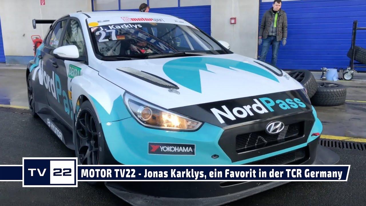 MOTOR TV22: Jonas Karklys, einer der Favoriten in der ADAC TCR Germany