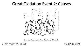 Great Oxidation Event - Causes