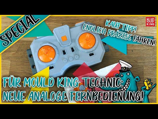 Endlich Mould King Technic-Modelle präzise steuern: Diese analoge Fernbedienung solltet ihr haben!