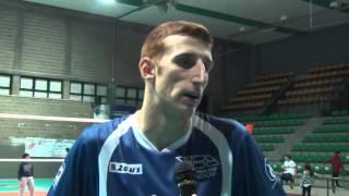05-12-2015: #A2MVolley - VBC Mondovì, Francesco De Luca dopo la vittoria a Castellana Grotte