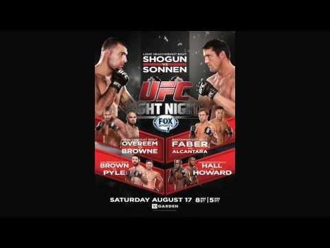 UFC Fight Night 26: Shogun VS Sonnen Review