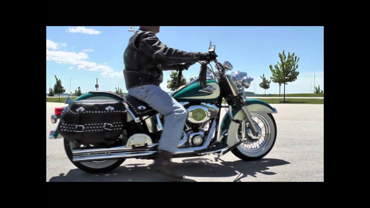 2009 Harley Davidson Heritage Softail - YouTube