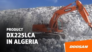 DX225LCA of Quarry site in Algeria Thumbnail