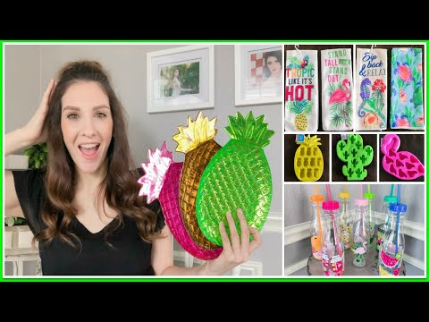 DOLLAR TREE HAUL -- 2019 SUMMER COLLECTION IS HERE! PT 1