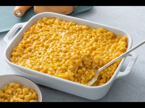 Butternut Squash Macaroni And Cheese - Healthy Dinner Recipes - Weelicious