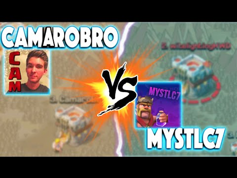 Clash of Clans - CLASH OF CLANS WITH CAM VS MYSTLC7 CLAN WAR! THE MOST ANTICIPATED CLAN WAR IS HERE!