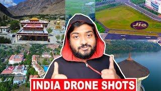 INDIA DRONE SHOTS | Showreel Mashup | Youtube ReWIND 2017 | Mumbai Musafir