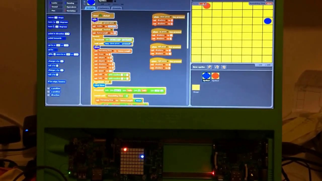 Raspberry Pi Roundup with a collect the dots game, new