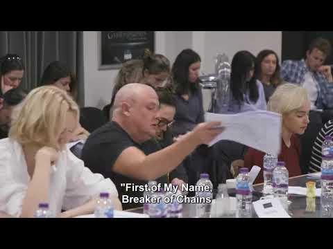 реакция актёров Игры Престолов на сценарий финальной серии. Варис