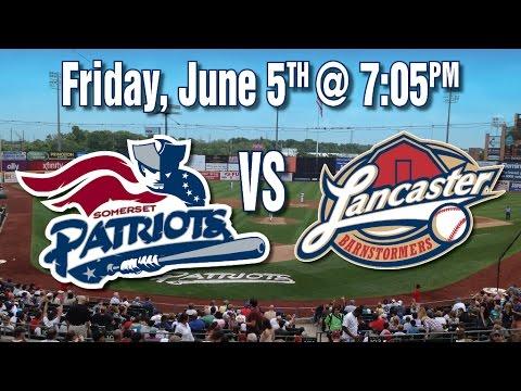 6/5/15:-lancaster-barnstormers-@-somerset-patriots-baseball-game-live-stream-from-spn.tv