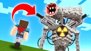 Minecraft mecha siren head is after us we defeated so decided to sfight back in for 24 hours! even found his minions! what s...