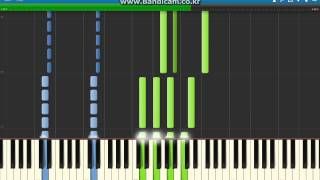 Cytus Halcyon Piano tutorial // 사이터스 Halcyon 피아노 악보