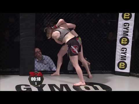 Shock N Awe 22 Pro Strawweight MMA Judith Levi Vs Jade Barker