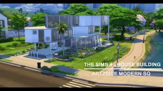 The Sims 4 - House Building - Artzsice Modern Sq