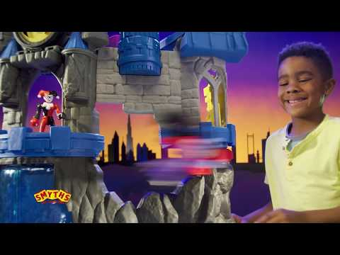 Imaginext DC Super Friends Wayne Manor Batcave - Smyths Toys