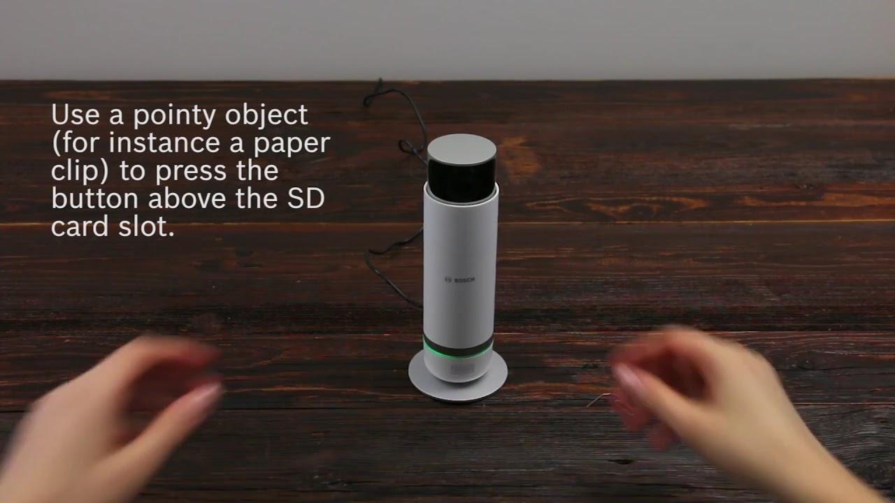 How To Reset The 360° Indoor Camera | Bosch Smart Home [En]  Bosch Smart  Home 00:57 HD
