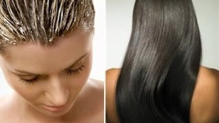 видео Маска для быстрого роста и густоты волос