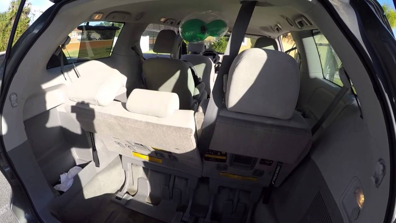 Fox Rental Car: Toyota Sienna Alugado Na Fox Rent A Car De Orlando