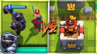 MEGA KNIGHT vs ARENA 1 NOOBS! | Clash Royale
