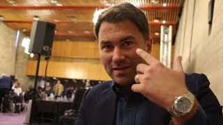 EDDIE HEARN RAW! ON JOSHUA-WILDER CONTRACT, WHYTE-PARKER PPV, FURY RETURN, 'FIGHTERS SIGNED' FOR U.S