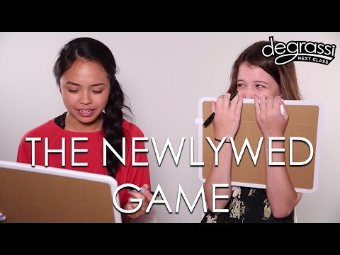 Chelsea and Sara Play The Newlywed Game  Degrassi: Next Class
