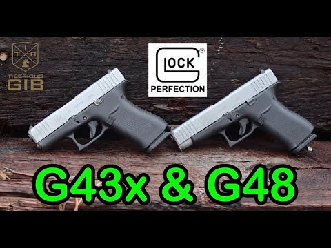 Glock 48 & 43x Test & Review / Best Micro Compact EDC Pistol? /9mm Everyday Carry Handgun