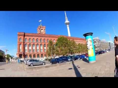 Walking in Berlin (Germany)